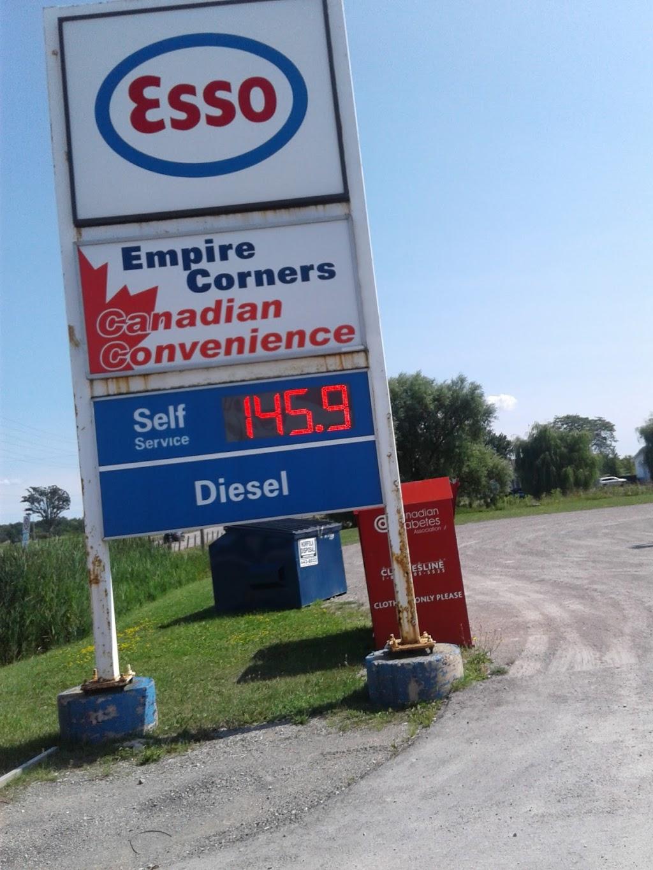Esso | gas station | 1053 HALDIMAND HWY 56 RR1, York, ON N0A 1R0, Canada | 9057726191 OR +1 905-772-6191