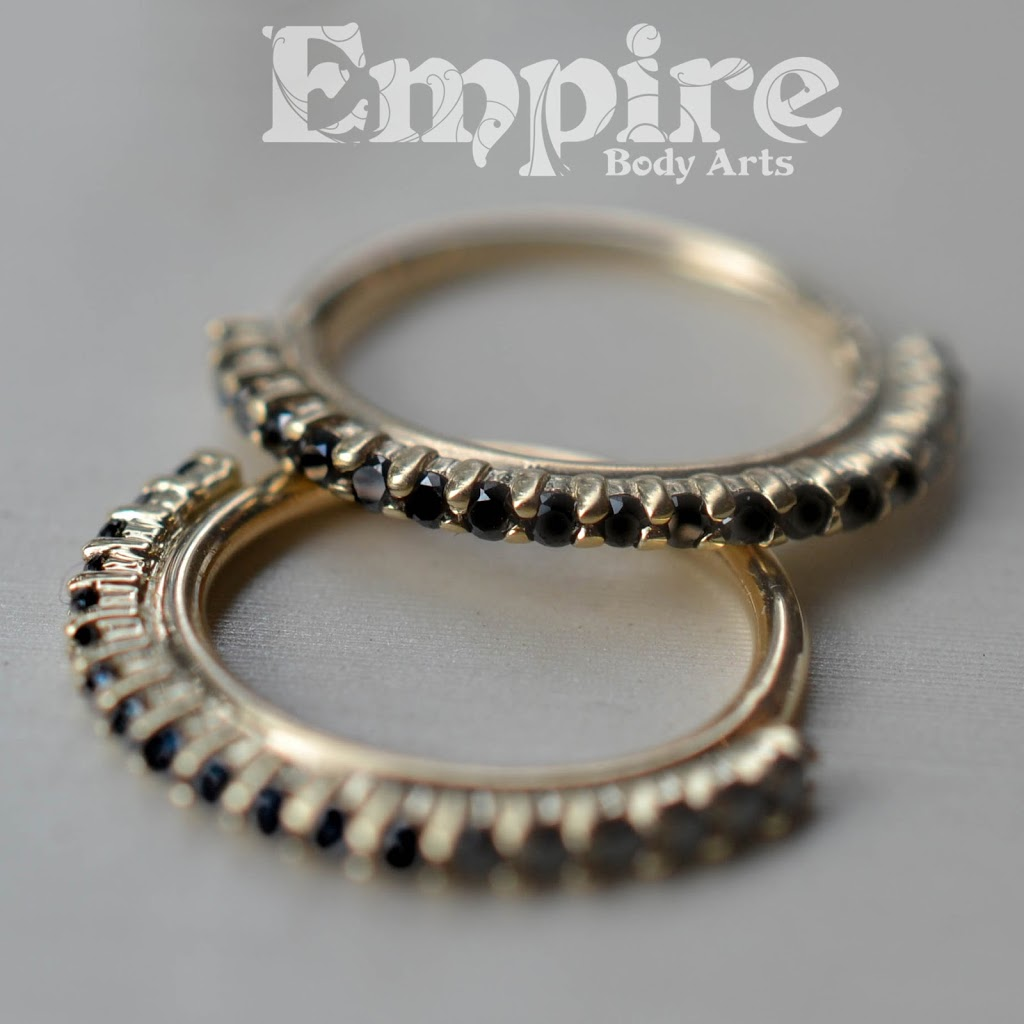 Empire Body Arts | jewelry store | 469 Boulevard Langelier, Québec, QC G1K 5P3, Canada | 4185235099 OR +1 418-523-5099