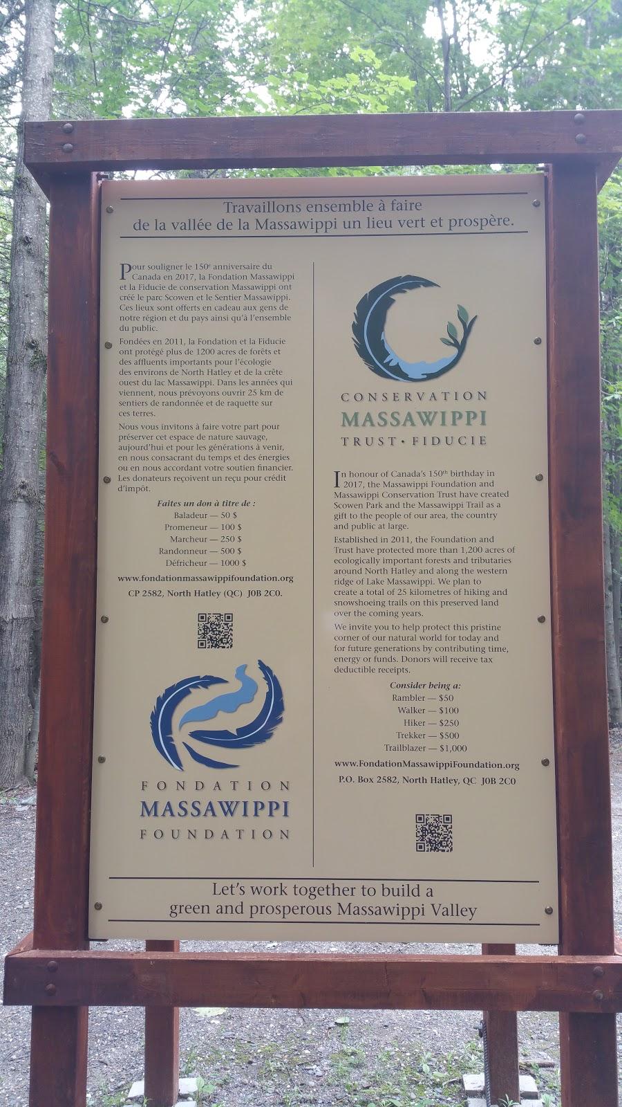Sentier Massawippi Trail   museum   85-81 Côte du Piémont, Sainte-Catherine-de-Hatley, QC J0B, Canada