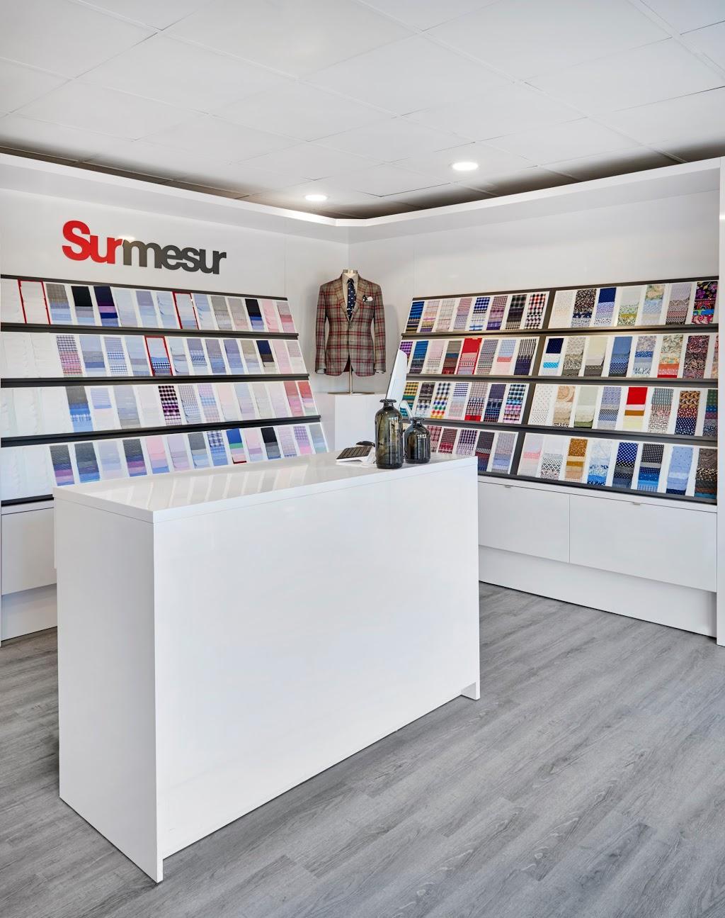 Surmesur Custom Menswear   clothing store   255 Lakeshore Rd E, Mississauga, ON L5G 1G8, Canada   2897241995 OR +1 289-724-1995