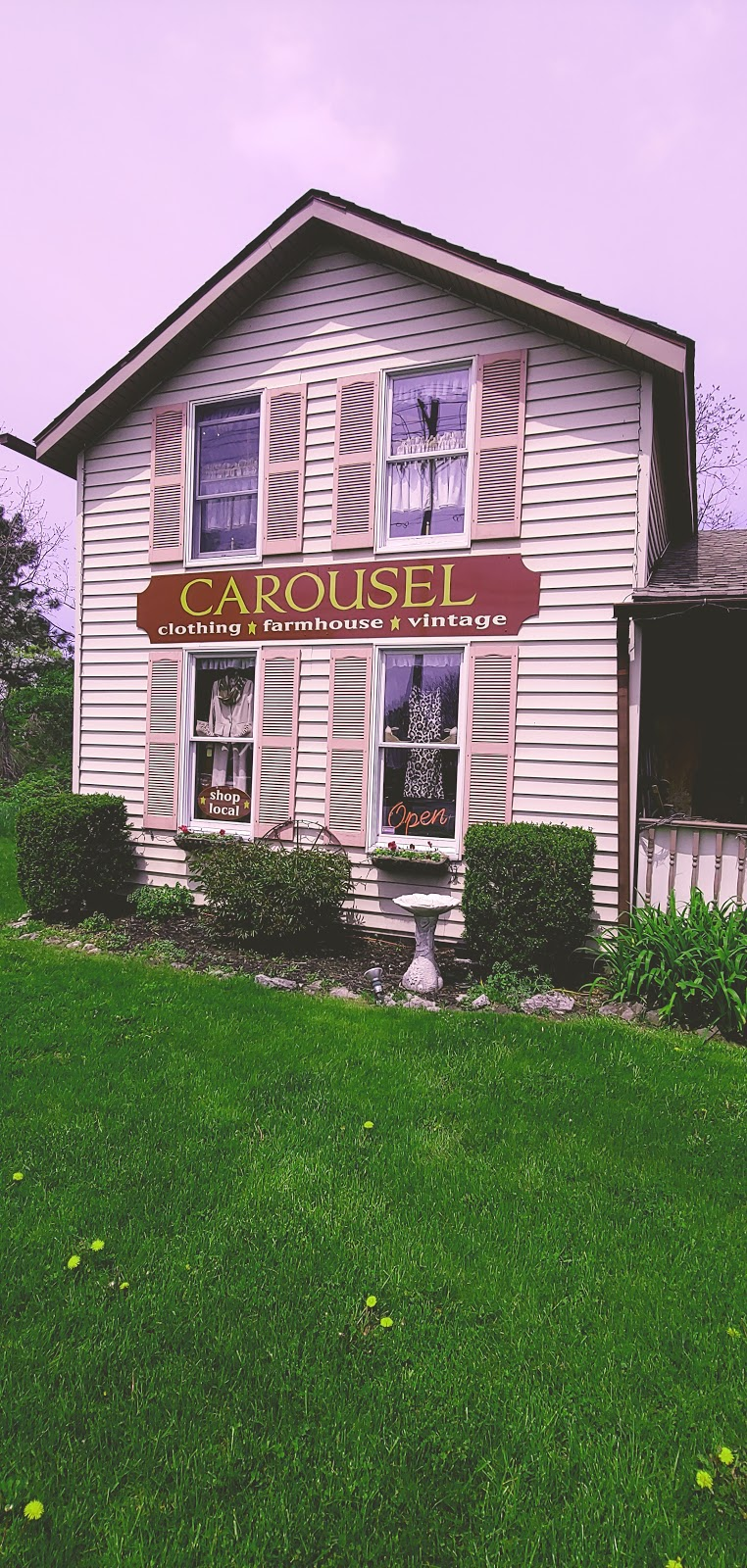 "Carousel ""A Shop w/ Cottage Charm"" 