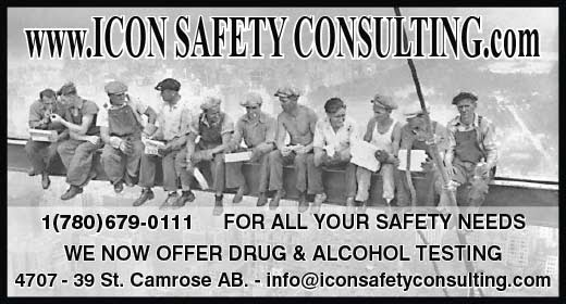 ICON SAFETY CONSULTING INC. | health | 5610 48 Ave, Camrose, AB T4V 0K1, Canada | 8446790111 OR +1 844-679-0111