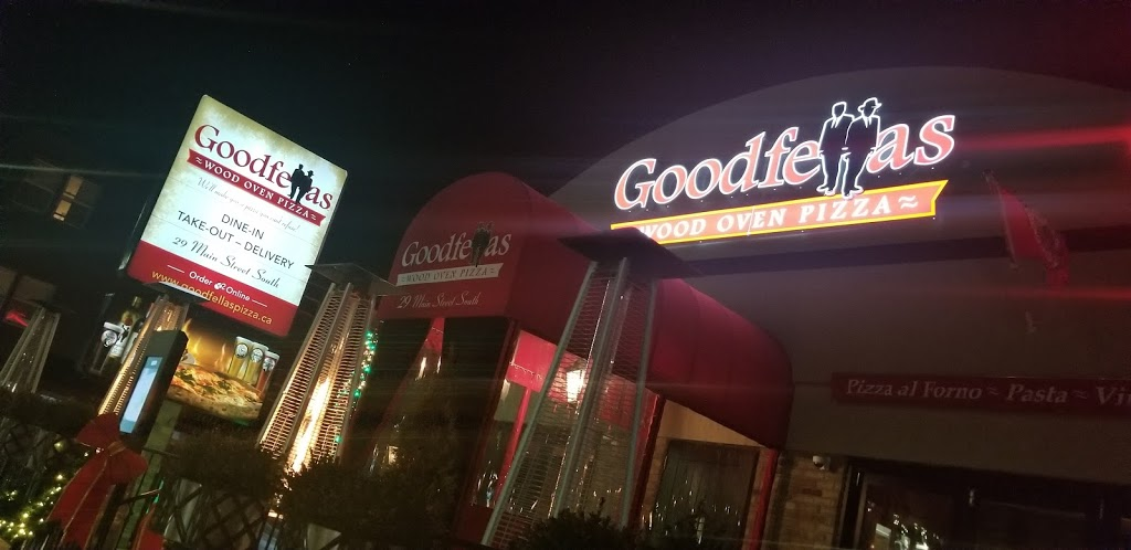 Goodfellas Wood Oven Pizza | restaurant | 29 Main St S, Georgetown, ON L7G 3G2, Canada | 8554335527 OR +1 855-433-5527