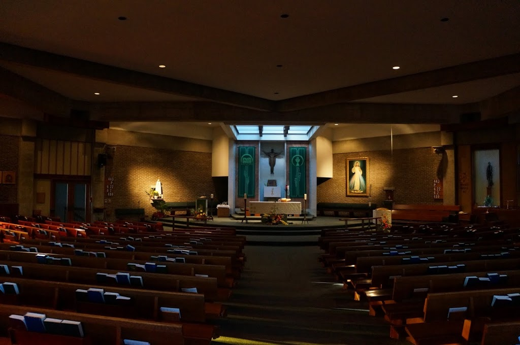 St Agnes Catholic Church | church | 75 Bluevale St N, Waterloo, ON N2J 3R7, Canada | 5198854480 OR +1 519-885-4480