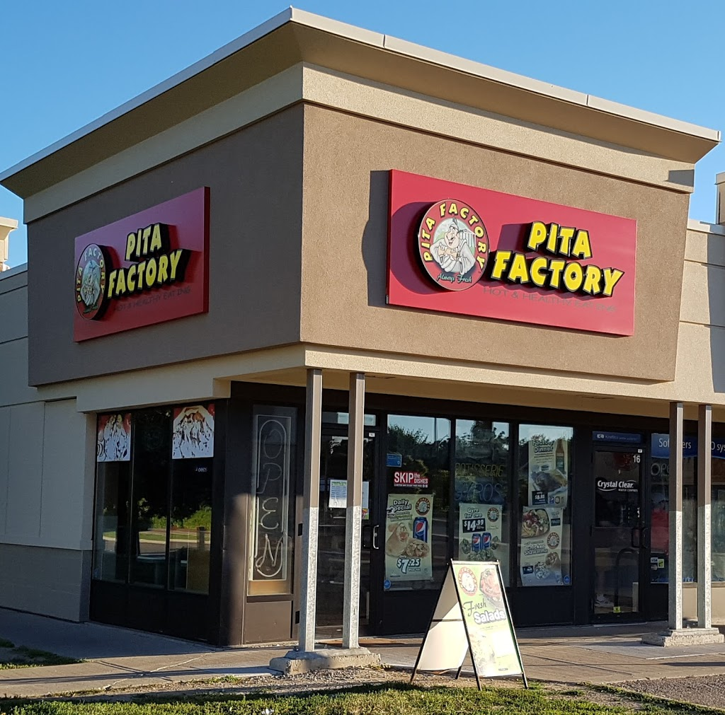 Pita Factory | restaurant | 325 Highland Rd W, Kitchener, ON N2M 3C6, Canada