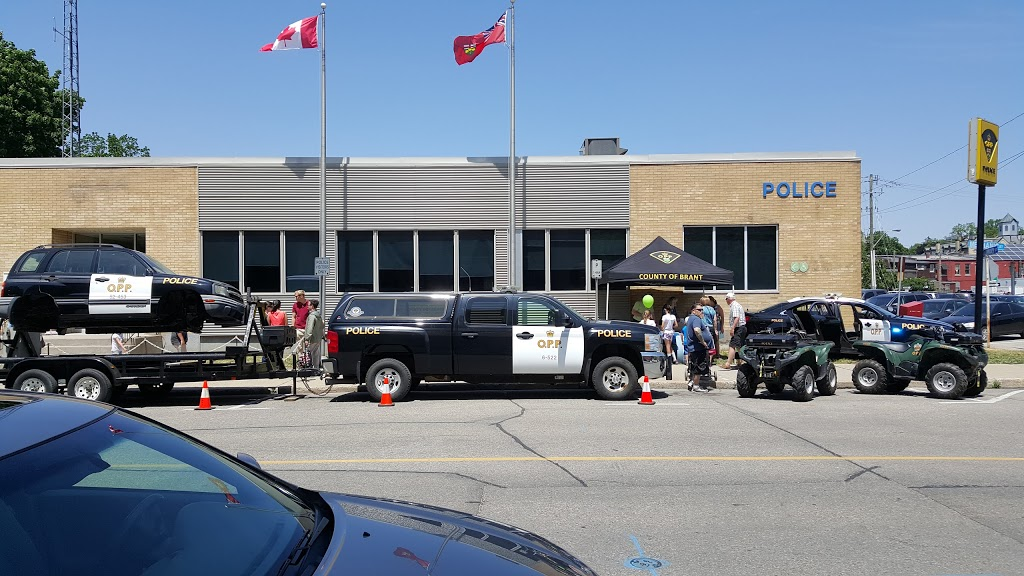 Ontario Provincial Police   police   28 Mechanic St, Paris, ON N3L 1K4, Canada   5194422242 OR +1 519-442-2242