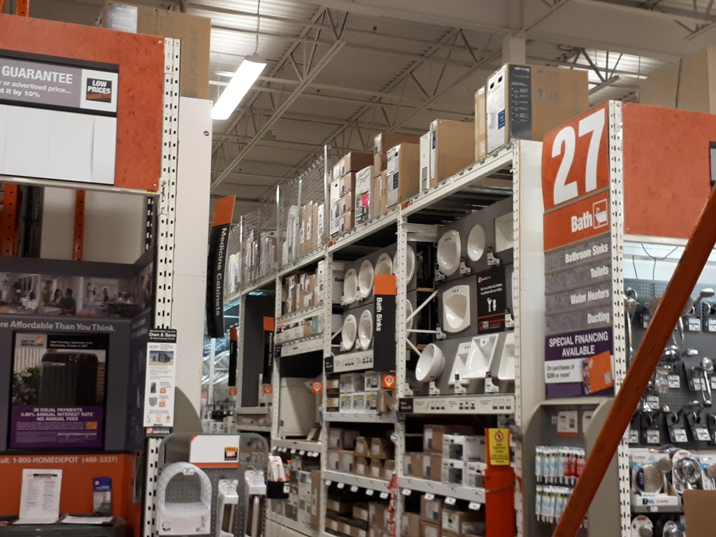 The Home Depot | furniture store | 1013 Maple Ave, Milton, ON L9T 0A5, Canada | 9058641200 OR +1 905-864-1200