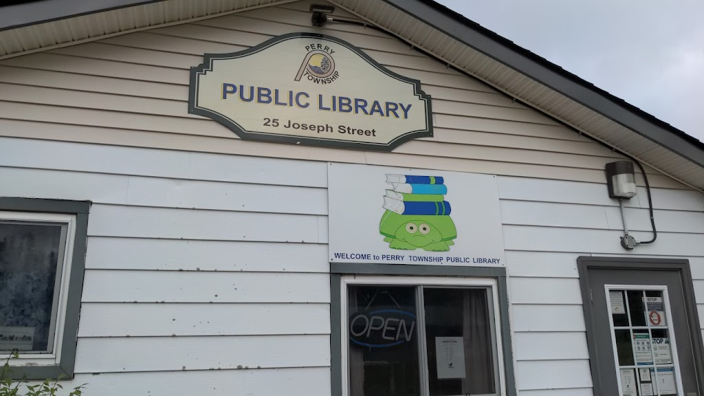 Perry Township Public Library | library | 25 Joseph St, Emsdale, ON P0A 1J0, Canada | 7056365454 OR +1 705-636-5454