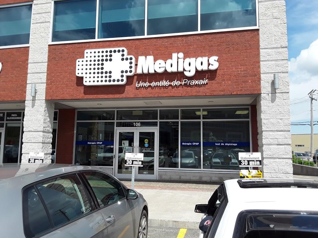 Medigas | health | 815 Boulevard Lebourgneuf bureau 106, Québec, QC G2J 0C1, Canada | 4186860202 OR +1 418-686-0202