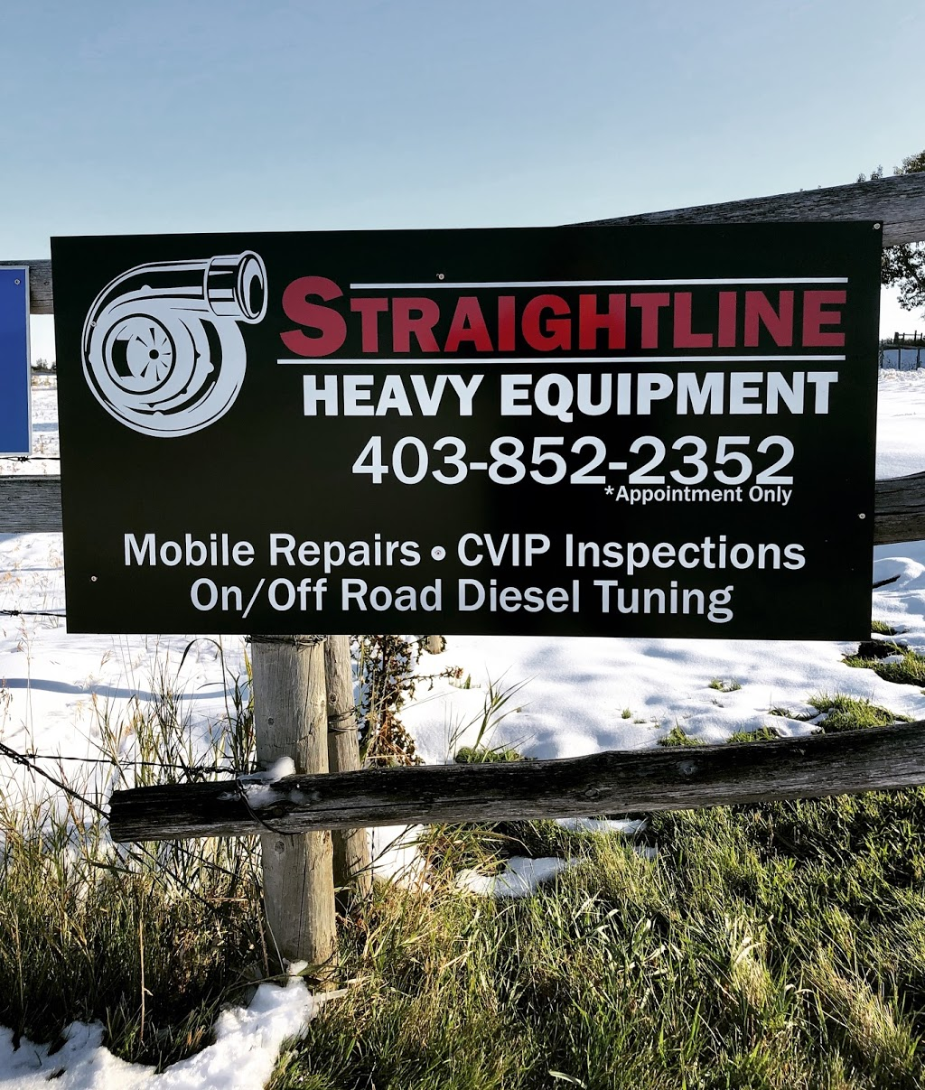Straightline Heavy Equipment & Auto Ltd | car repair | Box 58, Aldersyde, AB T0L 0A0, Canada | 4038522352 OR +1 403-852-2352