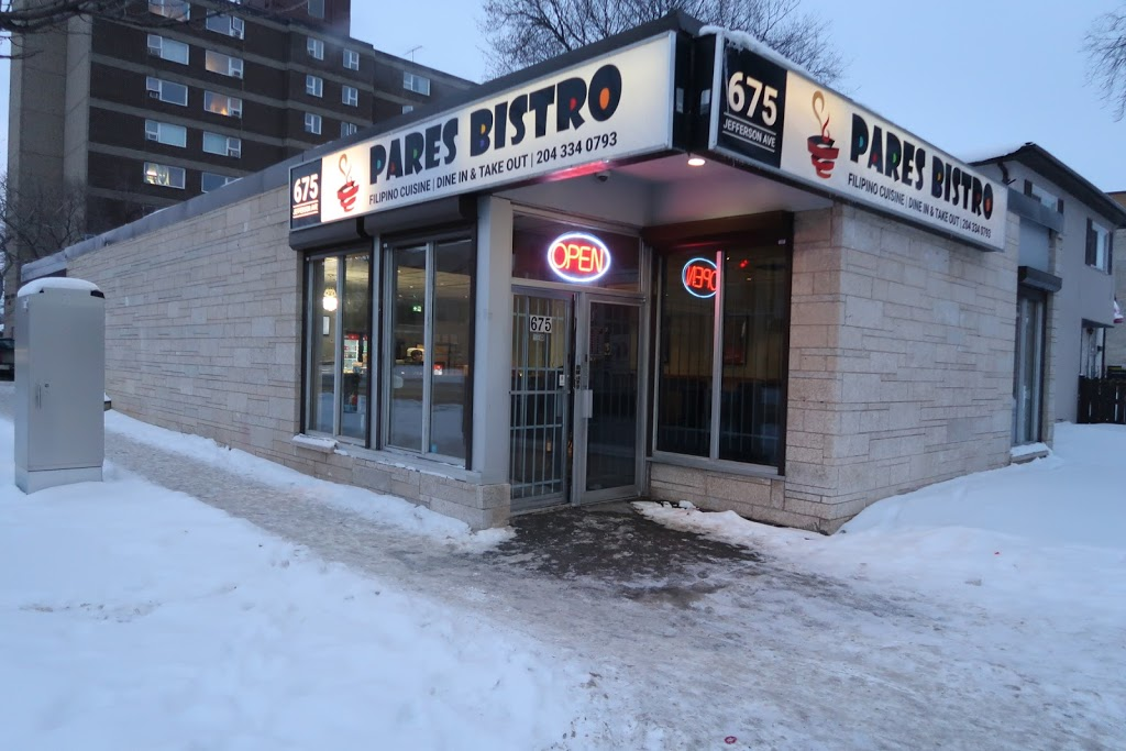 Pares Bistro   restaurant   675 Jefferson Ave, Winnipeg, MB R2V 0P5, Canada   2043340793 OR +1 204-334-0793