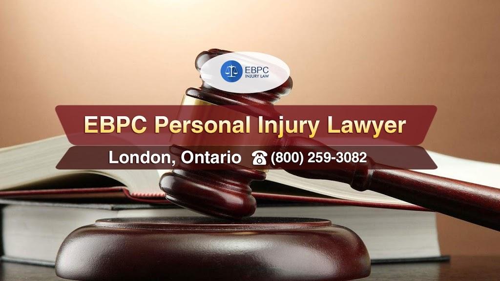 EBPC Personal Injury Lawyer | lawyer | 1017 Western Rd Unit 208, London, ON N6G 1G5, Canada | 8002593082 OR +1 800-259-3082