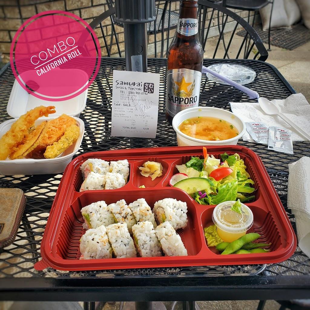Samurai Sushi & Teriyaki | restaurant | 208 East Island Highway, Parksville, BC V9P 2H3, Canada | 2509510752 OR +1 250-951-0752