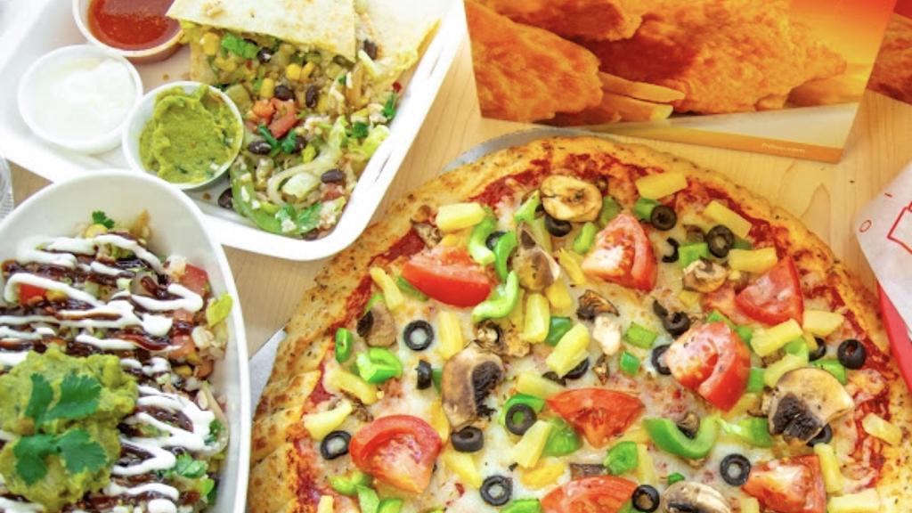 Fritou Chicken Pizza Burrito Forest Lawn Halal 3719 17 Ave Se Calgary Ab T2a 0s1 Canada
