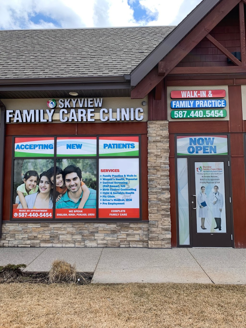 Skyview Family Care Clinic | health | 55 Skyview Ranch Rd #2108, Calgary, AB T3N 0E4, Canada | 5874405454 OR +1 587-440-5454