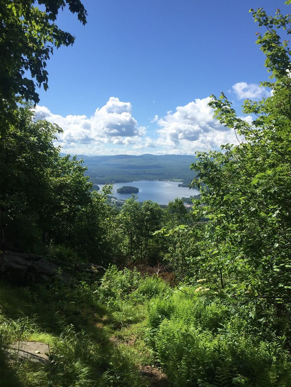 Bluff mountain hiking trail head | park | 551 Mountain St, Island Pond, VT 05846, USA