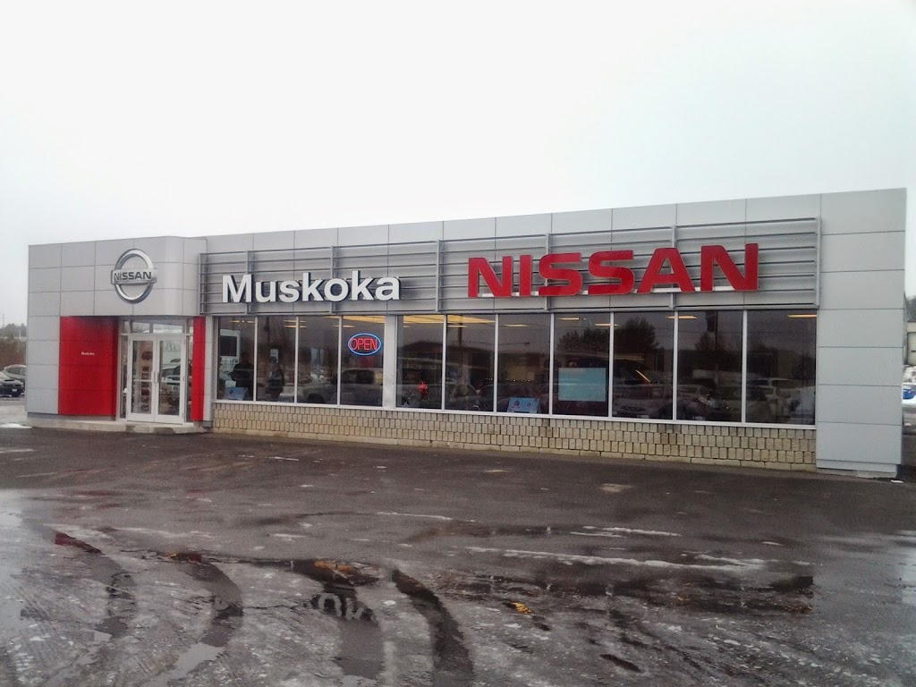 Nissan Of Muskoka | car dealer | 46 E P. Lee Dr, Bracebridge, ON P1L 0A1, Canada | 8004617412 OR +1 800-461-7412