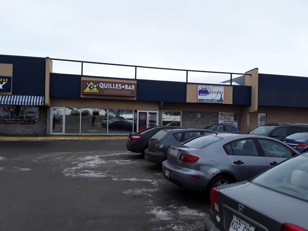 Salon de Quilles Le Triplé de Charlesbourg   bowling alley   1190 Boulevard Louis-XIV, Québec, QC G1H 6P2, Canada   4186235351 OR +1 418-623-5351