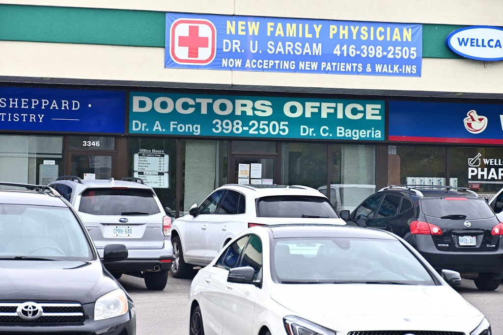 Dr Fong | doctor | 3348 Keele St, North York, ON M3J 1L5, Canada | 4163982505 OR +1 416-398-2505