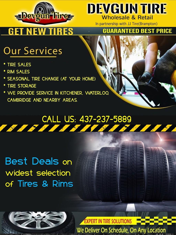 Devgun Tire Inc   car repair   48 Ravenswood Rd, Breslau, ON N0B 1M0, Canada   4372375889 OR +1 437-237-5889