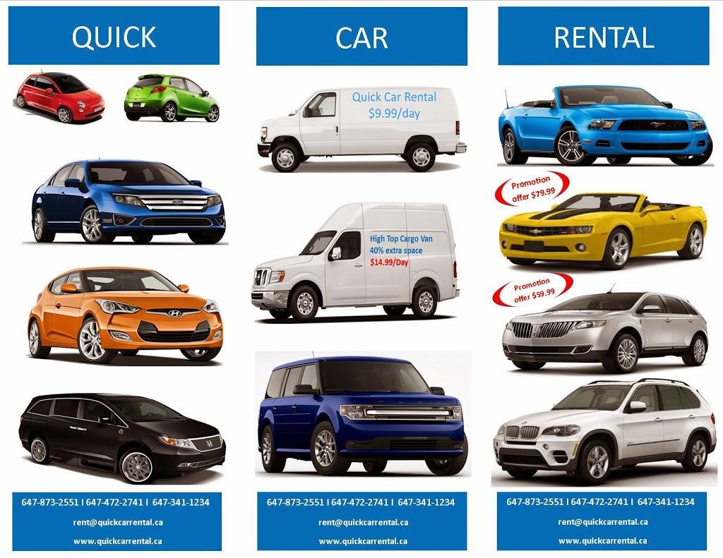 Quick Car Rental | travel agency | 924 Dixon Rd, Etobicoke, ON M9W 5G1, Canada | 6473411234 OR +1 647-341-1234