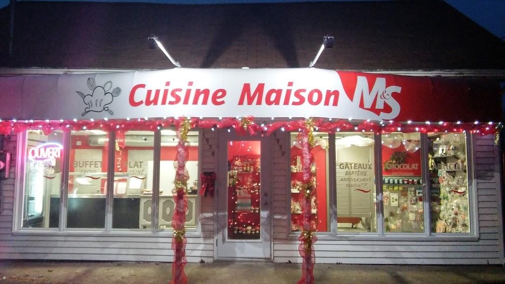 Cuisine Maison M&s   restaurant   1930 Boulevard Mercure, Drummondville, QC J2B 3N9, Canada   8198504191 OR +1 819-850-4191