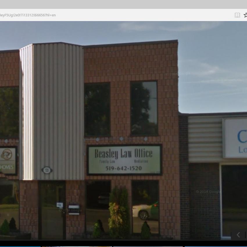 Beasley Law Office   lawyer   525 South St, London, ON N6B 1C4, Canada   5196421520 OR +1 519-642-1520