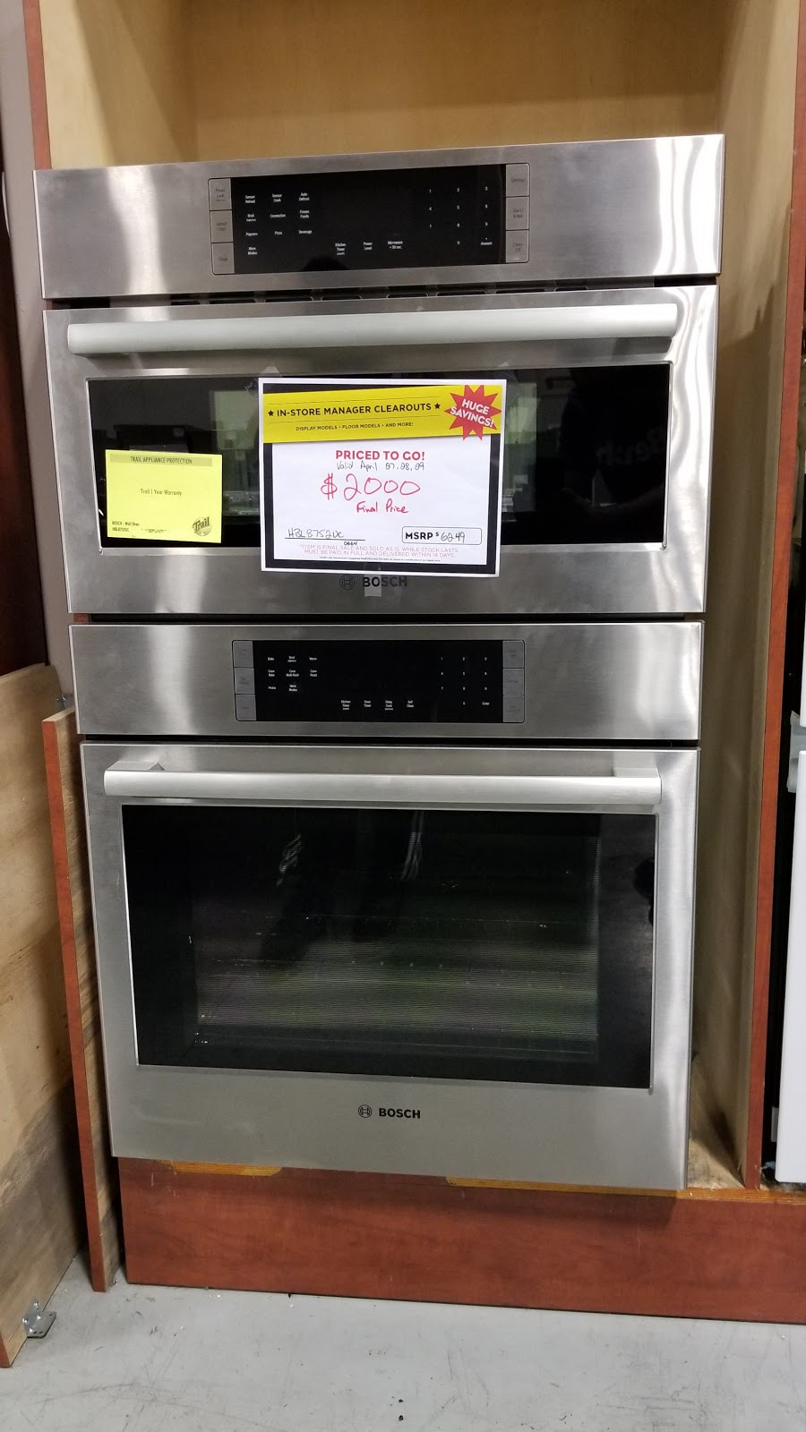 Trail Appliances - Annacis Island Clearance Centre | home goods store | 820 Cliveden Pl #10, Delta, BC V3M 6C7, Canada | 6047773316 OR +1 604-777-3316