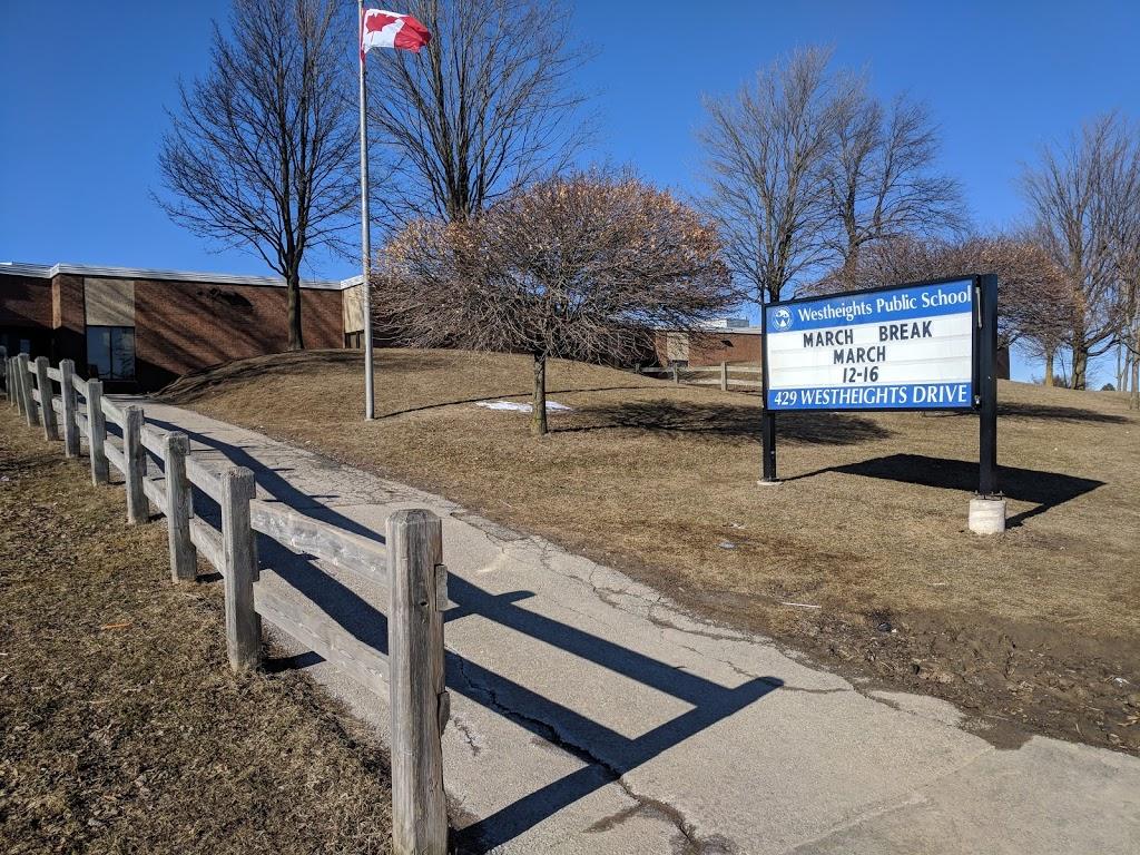 Westheights Public School | school | 429 Westheights Dr, Kitchener, ON N2N 1M3, Canada | 5197443549 OR +1 519-744-3549