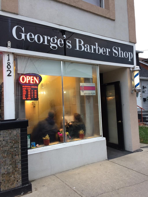 Georges Barber Shop | hair care | 182 Royal York Rd, Etobicoke, ON M8V 2V6, Canada | 4162598586 OR +1 416-259-8586