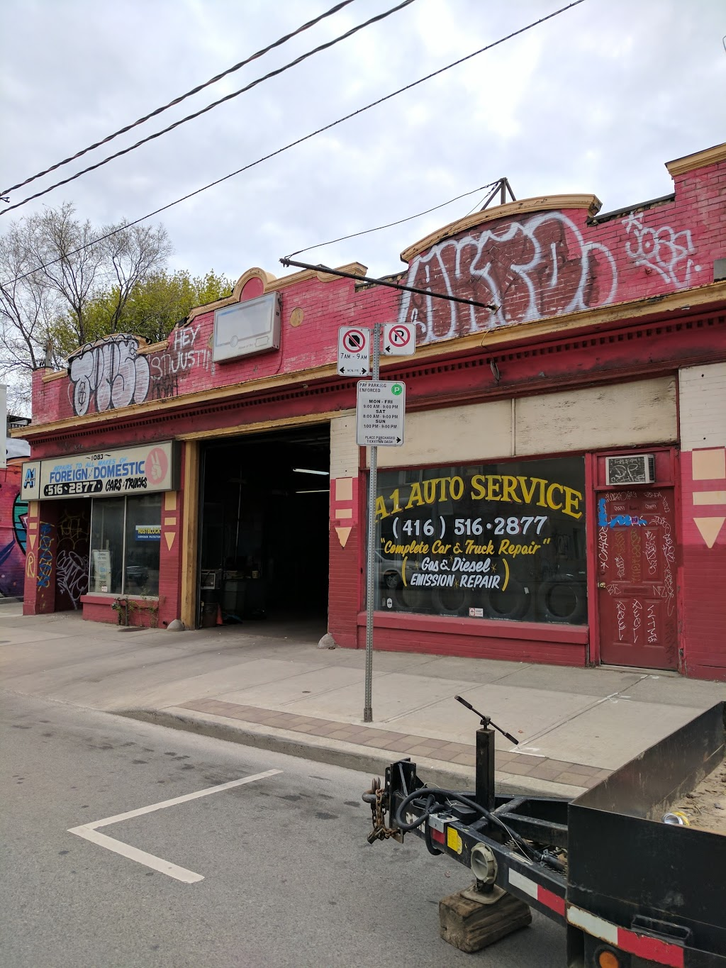 A-1 Auto Service | car repair | 1083 Dundas St W, Toronto, ON M6J 1W9, Canada | 4165162877 OR +1 416-516-2877