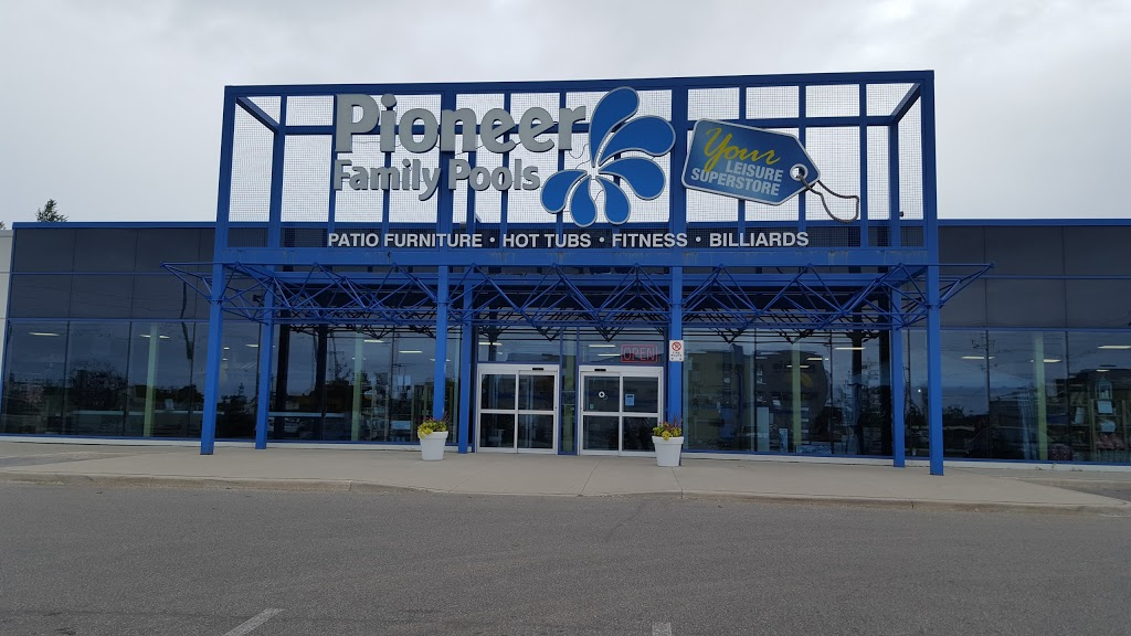 Pioneer Family Pools & Spas | store | 42 Anne St S, Barrie, ON L4N 2C9, Canada | 7057264606 OR +1 705-726-4606