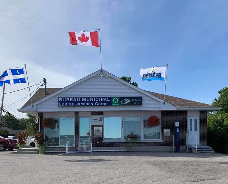 Municipalité de Batiscan - Édifice Jacques-Caron | point of interest | 795 Rue Principale, Batiscan, QC G0X 1A0, Canada | 4183622421 OR +1 418-362-2421