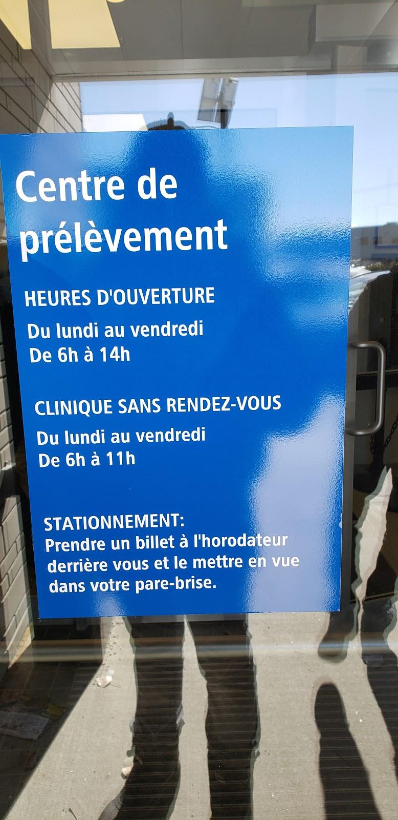 Centre de prélèvement de lhôpital de Saint-Eustache | hospital | 239 Rue Robinson, Saint-Eustache, QC J7P 0B4, Canada