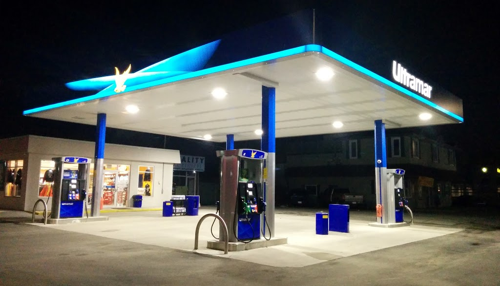 Ultramar Gas Station | car wash | 71 Anne St S, Barrie, ON L4N 2E2, Canada | 7057331500 OR +1 705-733-1500