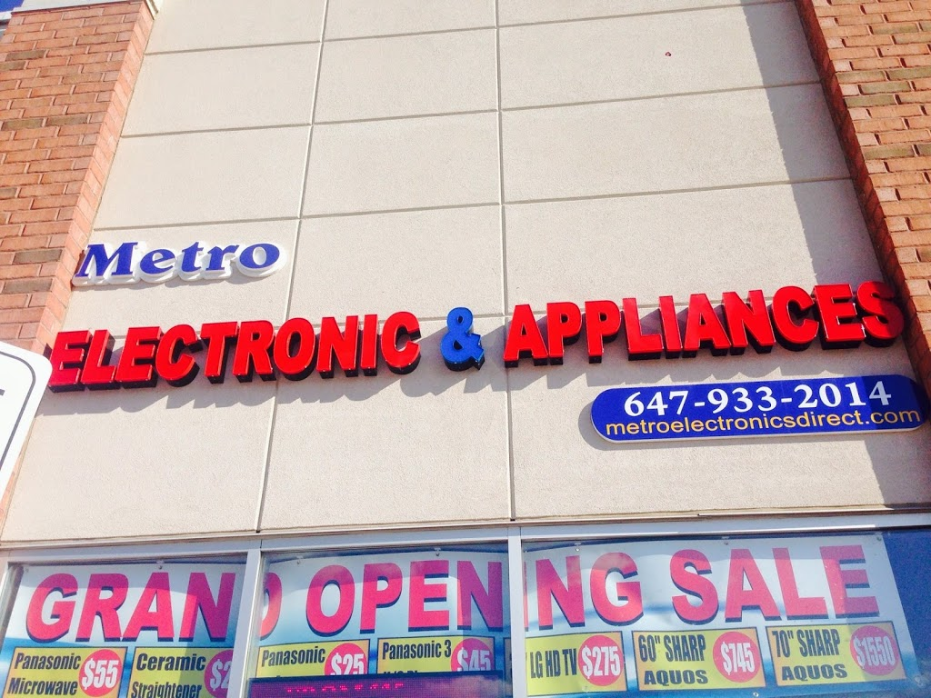Metro Electronic & Appliances | electronics store | 30 New Delhi Dr #65, Markham, ON L3S, Canada | 6479332014 OR +1 647-933-2014