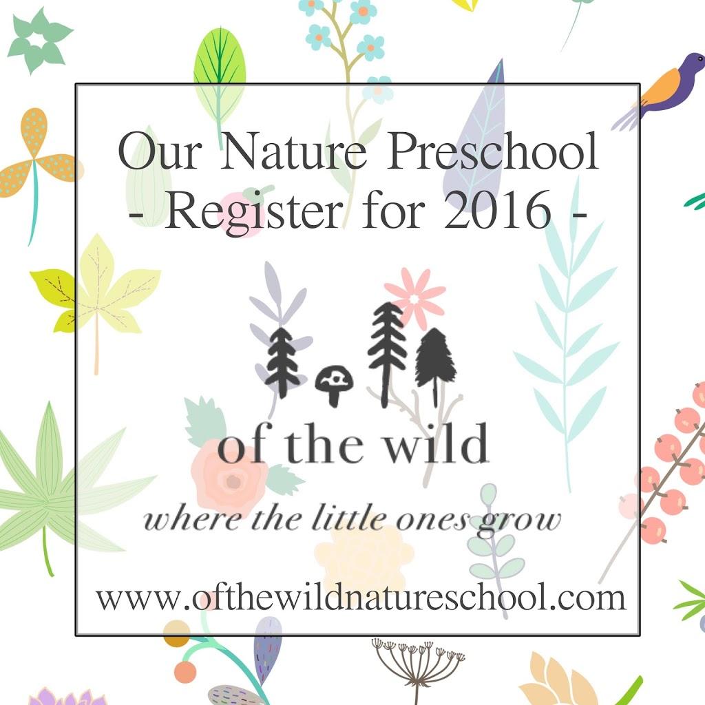 Of the Wild Nature Preschool   school   10 11a St NE, Calgary, AB T2E 4Z3, Canada   4039265469 OR +1 403-926-5469