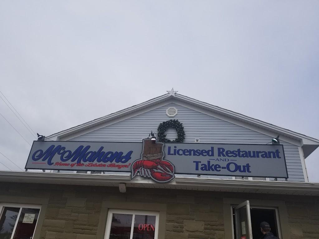 McMahons | restaurant | 13864-13886 Sunrise Trail, Wallace, NS B0K 1Y0, Canada | 9022572868 OR +1 902-257-2868