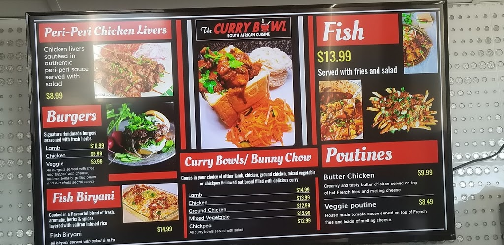 The Curry Bowl | restaurant | 3311 34 St NW, Edmonton, AB T6T 2K6, Canada | 7804404795 OR +1 780-440-4795