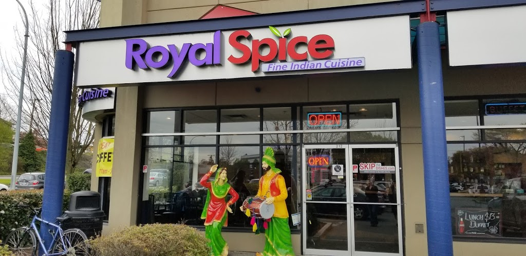 Royal Spice Fine Indian Cuisine | restaurant | 212-815 Cloverdale Ave, Victoria, BC V8X 5H9, Canada | 2503801881 OR +1 250-380-1881
