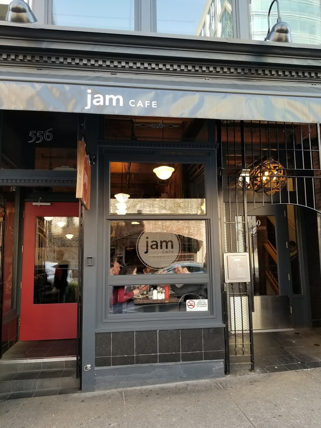 Jam Cafe | restaurant | 556 Beatty St, Vancouver, BC V6B 2L3, Canada | 7783791992 OR +1 778-379-1992